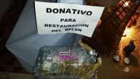 donativo para restauración Belén